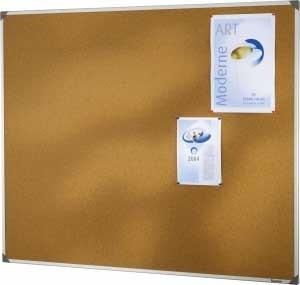 Tableau liège 45 x 60 cm cadre alu en vente chez Promociel