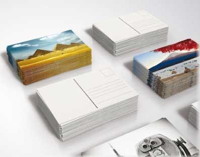 cartes postales personnalisées imprimées chez Promociel