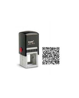 Tampon encreur carré printy 4923 personnalisé flash code / QR code internet
