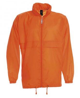 Coupe vent sirocco orange