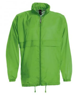 Coupe vent sirocco vert clair