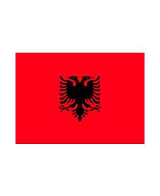 Drapeau Albanie 150 x 225 cm