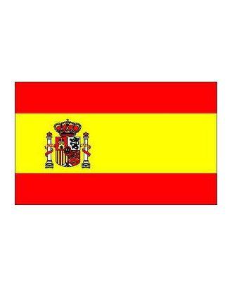 Drapeau Espagne avec écusson 100 x 150 cm