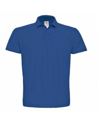 Polo id.001 bleu clair