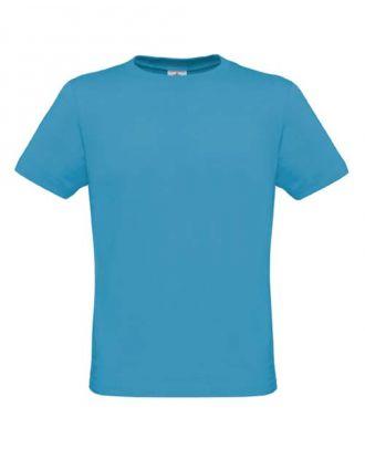 T-shirt men only bleu atoll