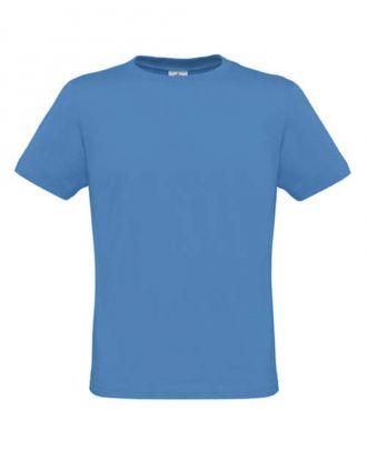 T-shirt men only bleu azur