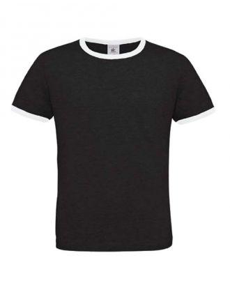 T-shirt men only play noir et blanc