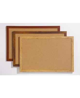 Tableau liège cadre chêne 59 x 79 cm