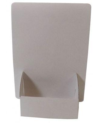 Présentoir A4 carton PCCA4 vierge de face