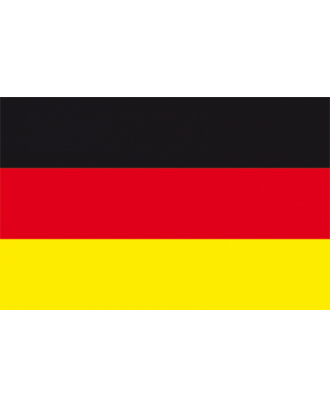 Drapeau adhésif Allemagne 20 x 30 cm