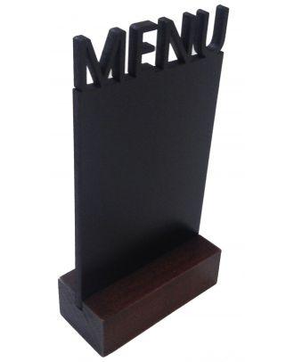 Chevalet de table ardoise menu de coté