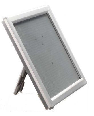 Cadre porte visuel A6 comptoir gris