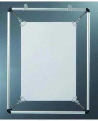 Cadre d'affichage sur vitre A4