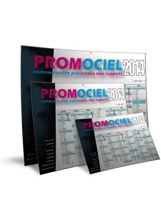 Les 250 calendriers A4 personnalisés recto verso