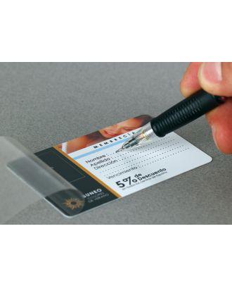 Cartes PVC personnalisées avec rabats