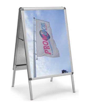 Chevalet stop trottoir A2 CLASA2 avec 2 affiches personnalisées