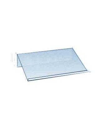 Chevalet plexiglas porte produit 100