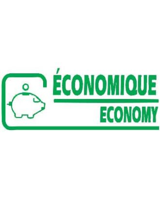 Empreinte de tampon économique