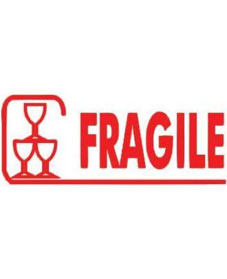 Empreinte de tampon fragile