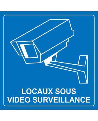 Panneau locaux sous vidéo surveillance PVC