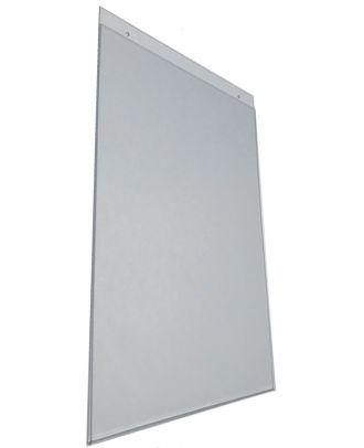 Pochette murale plexiglas A3 Verticale prépercée