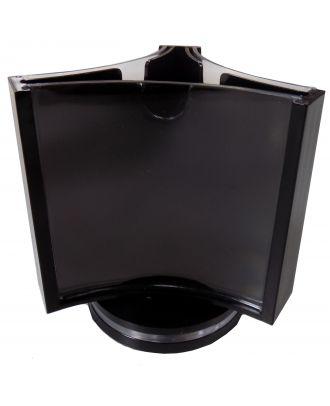 Présentoir de visuel rotatif de comptoir 85 x 85 mm PRMK212