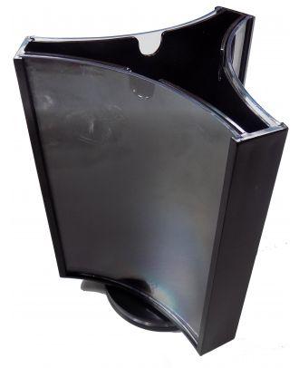 Présentoir de visuel rotatif de comptoir 128 x 182 mm PRMK218