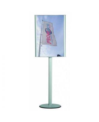 Présentoir d'affiche A1 sur pied BOMBA1 avec affiches personnalisées