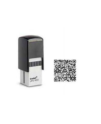 Tampon encreur carré printy 4922 personnalisé flash code / QR code internet