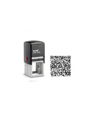 Tampon encreur carré printy 4924 personnalisé flash code / QR code internet