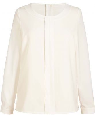 Blouse Crêpe de Chine Riola BT2264 - Cream
