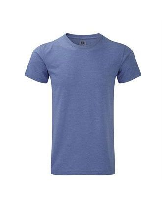 T-shirt HD polycoton bleu personnalisé