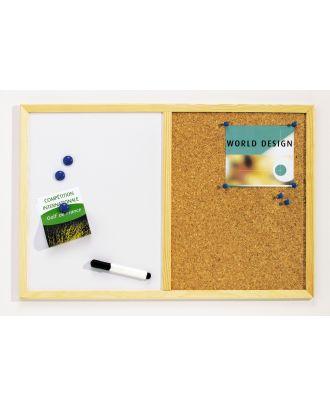 Tableau magnétique/liège 40 x 60 cm
