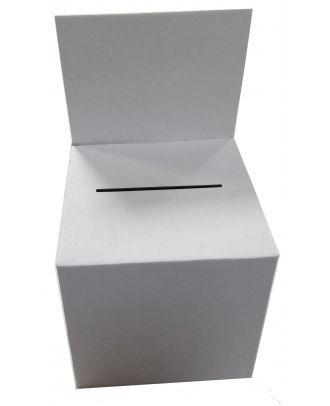 Urne carton blanc vierge