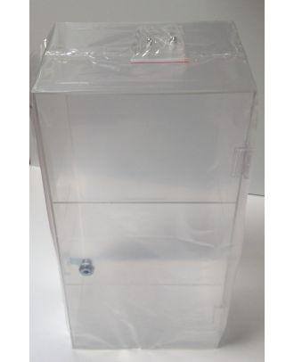 Vitrine plexiglas de comptoir PR20069 avec emballage individuel