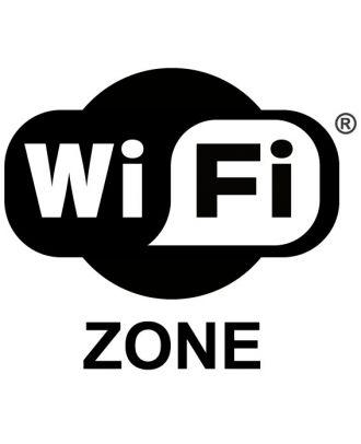 Panneau zone wifi PVC