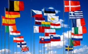Vente en ligne de drapeaux des pays d'Europe